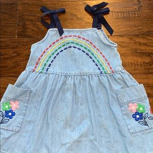 Hanna Andersson Toddler Dress with Embroidery